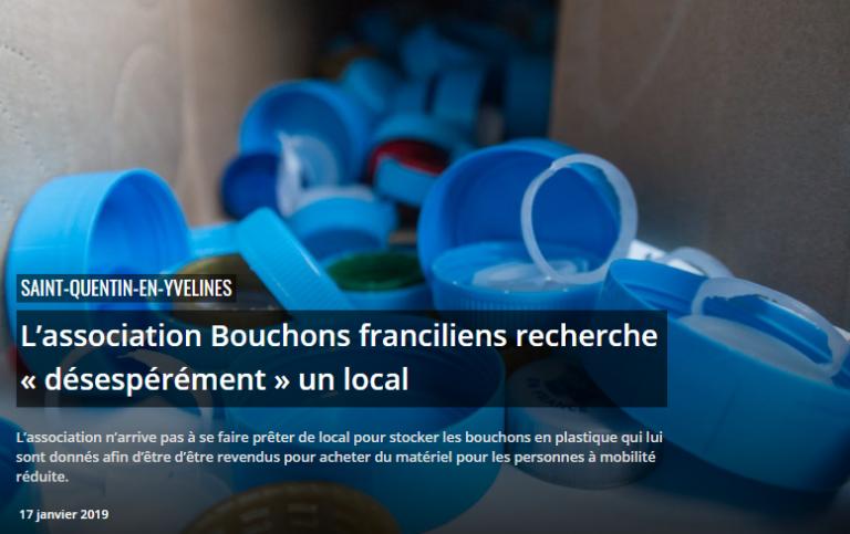 Bouchons Franciliens vu par La Gazette SQY le 17 janvier 2019